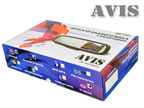 AVIS AVS0488DVR AUTO DIMMING упаковка