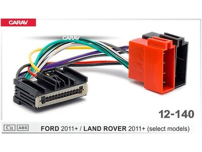ISO-переходник Ford 2011+, Land Rover 2011+ Carav 12-140