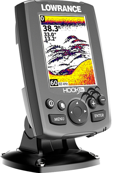Lowrance Hook-3x Fishfnder with 83/200