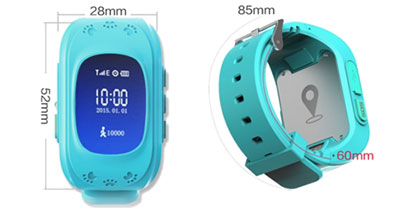 Smart Baby watch GPS конструкция Smart Baby Watch