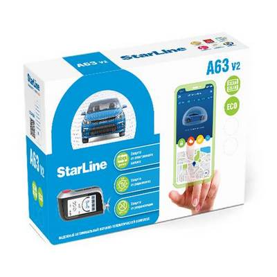StarLine A63 V2 2CAN+2LIN ECO
