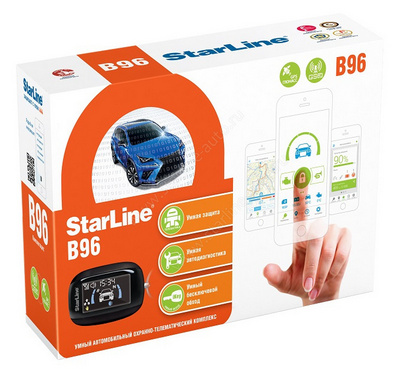StarLine B96 2CAN-2LIN GSM/GPS
